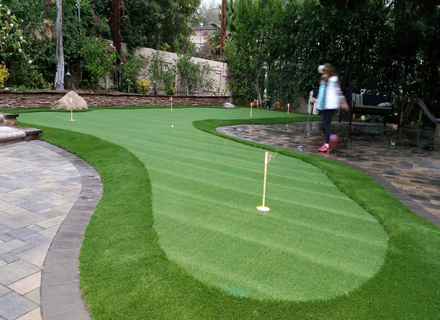 Do you have a question about your backyard putting green or any turf  question give us a call or contact us by clicking here. - Choosing Nylon Putting Greens Or Polypropylene Golf Greens - DP Turf