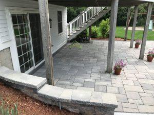 Backyard Makeover Andover MA Custom Landscape Design